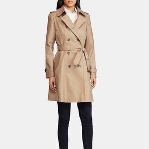 NWT Size XL Lauren Ralph Lauren Trench Coat